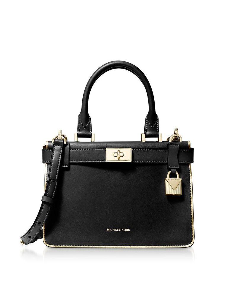 Michael Kors Designer Handbags, Tatiana Mini Satchel Bag