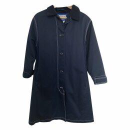 Blå Konst trench coat