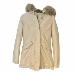 Ecru Cotton Coat