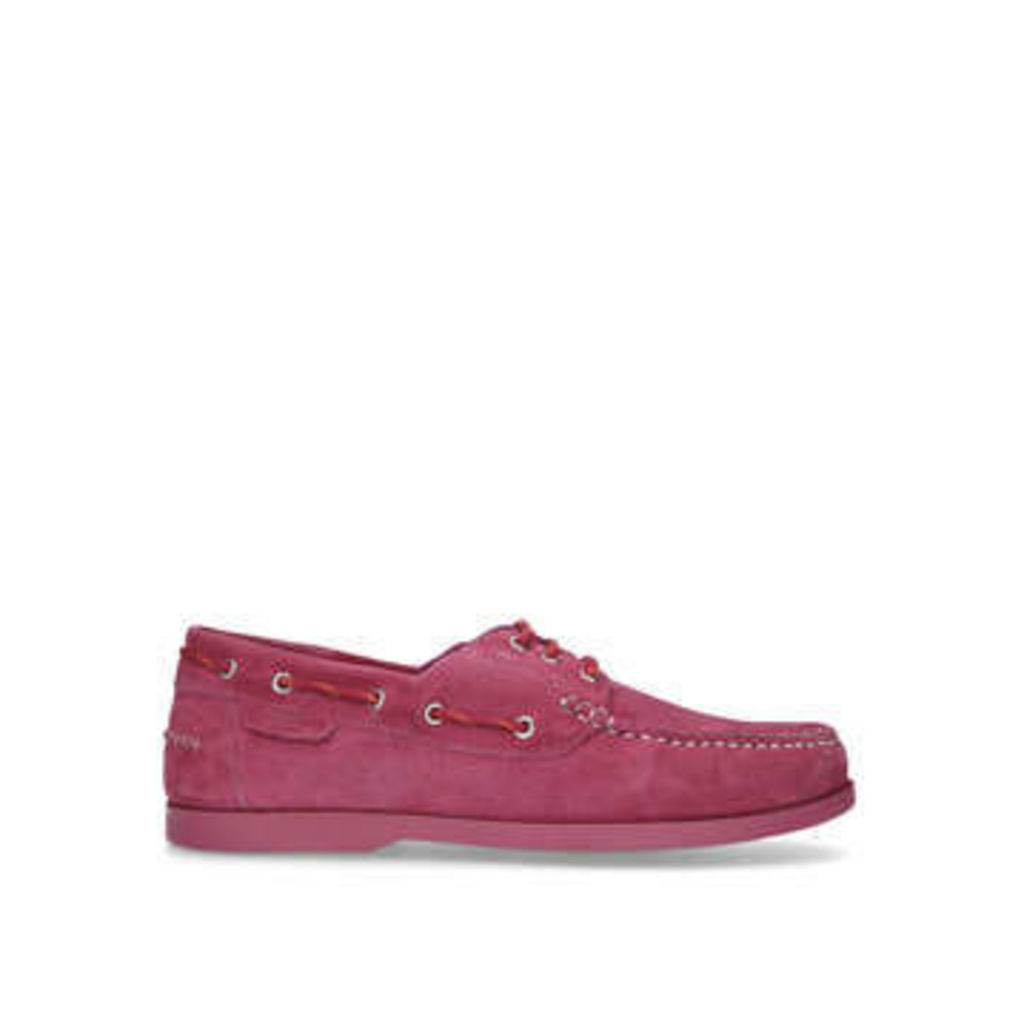 Kurt Geiger London Brendan - Pink Suede Boat Shoes