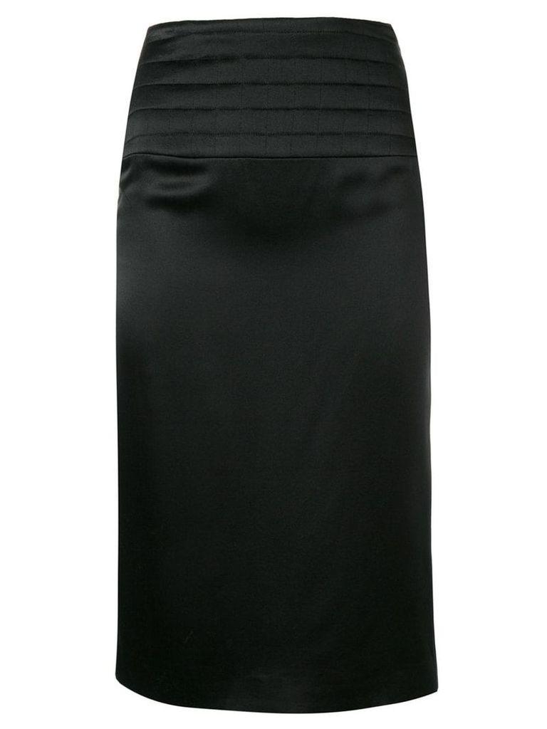 Chanel Vintage 2002 pencil skirt - Black