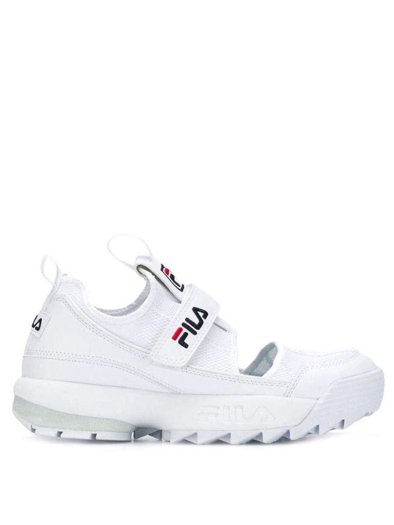 Fila Disruptor half-sandal sneakers - White