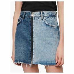 AllSaints Lomo Skirt, Indigo Blue