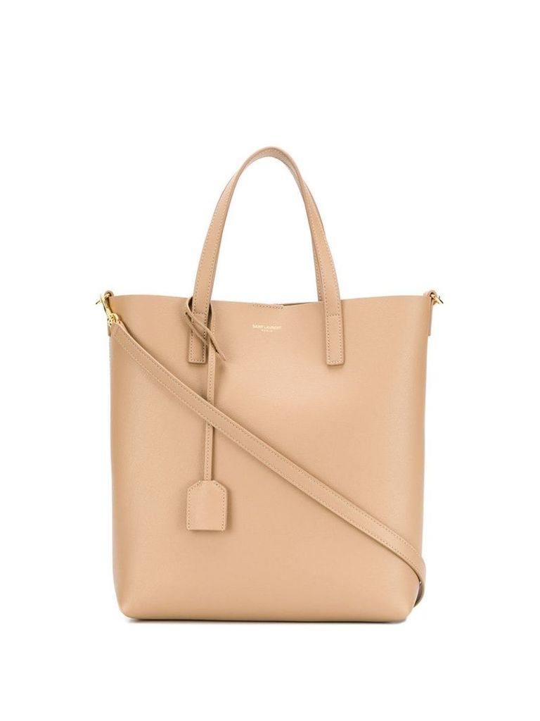 Saint Laurent Shopping Bag tote - Neutrals