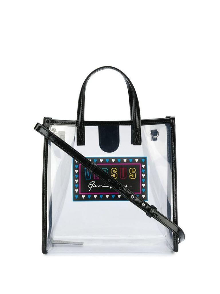 Versus sheer tote bag - Black