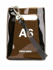 Nana-Nana A6 paperbag crossbody - Black