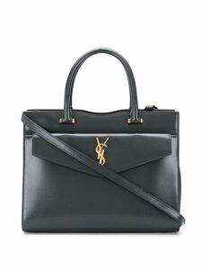 Saint Laurent Medium Uptown tote bag - Grey
