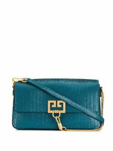 Givenchy fish scale shoulder bag - Blue