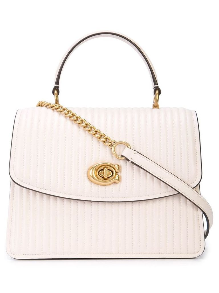 Coach Parker cross body bag - White