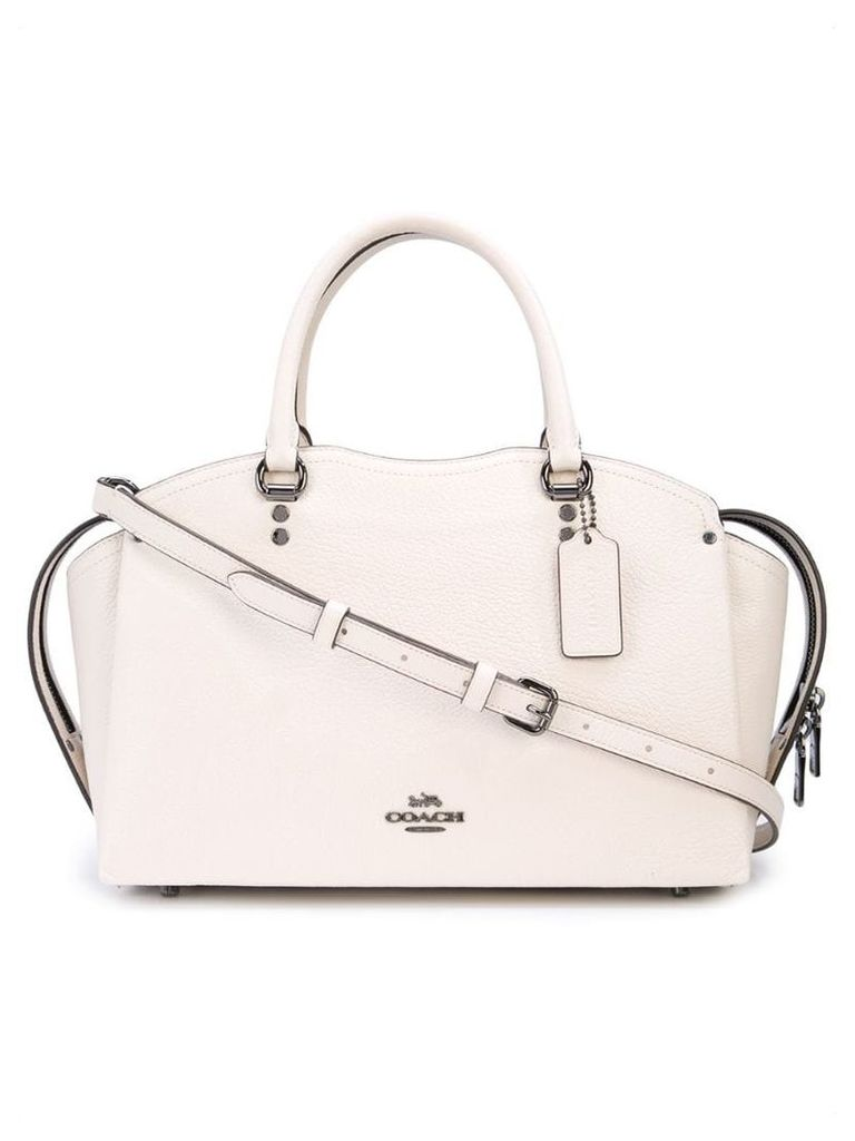 Coach Drew satchel handbag - White
