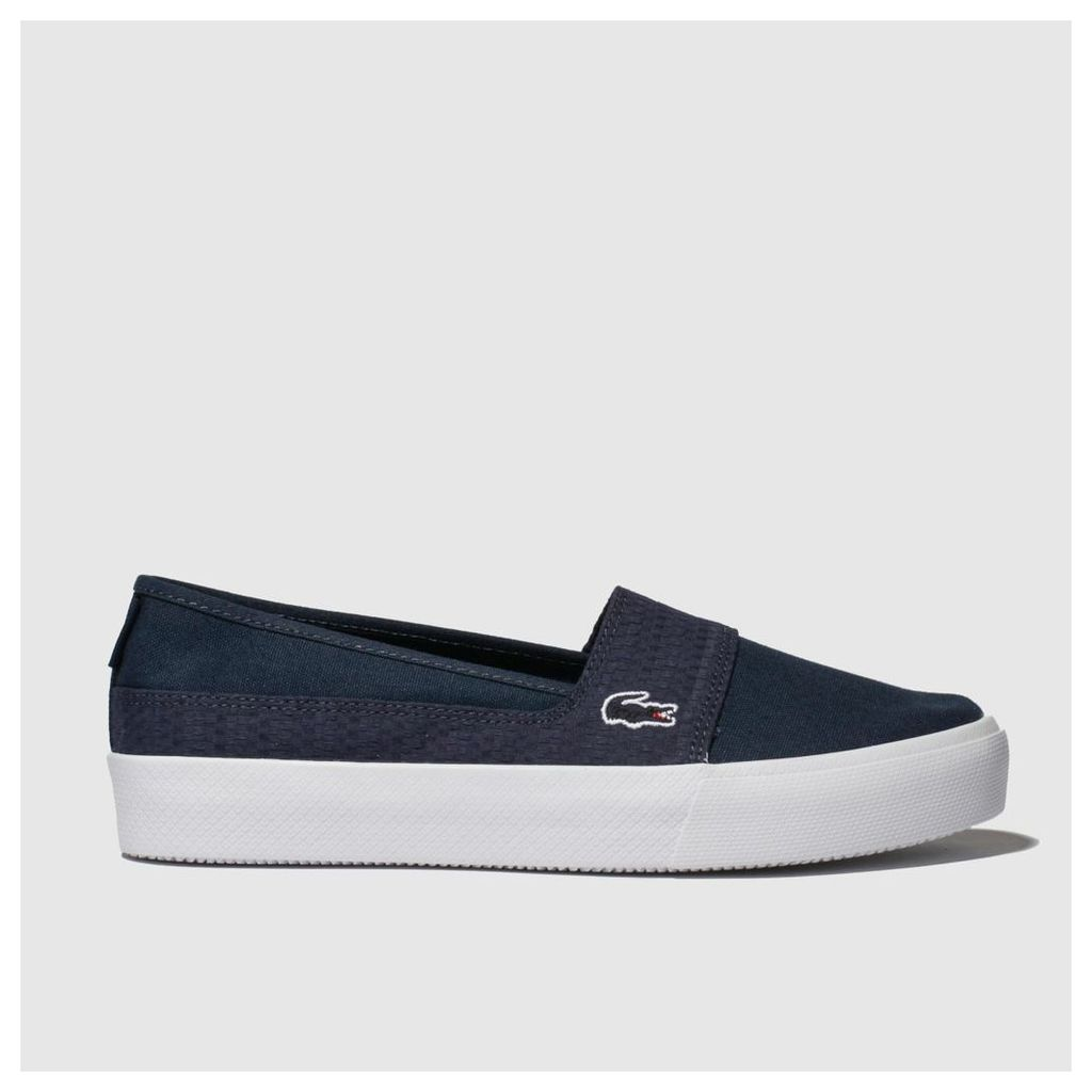 Lacoste Navy Marcie Plus Grand 119 Trainers