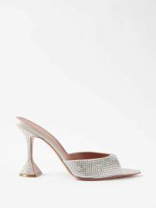Dolce & Gabbana - Scarf & Polka Dot Print Silk Charmeuse Gown - Womens - Multi