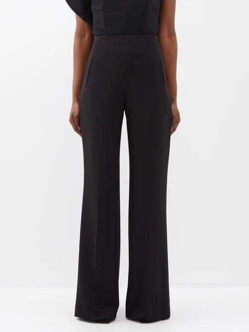 Burberry - Wharbridge Cotton-gabardine Trench Coat - Womens - Beige Multi