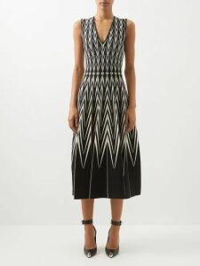 Burberry - Wharbridge Cotton Gabardine Trench Coat - Womens - Beige Multi