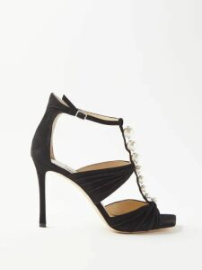 Dolce & Gabbana - Rose Print Silk Blend Crepe Coat - Womens - Black Multi