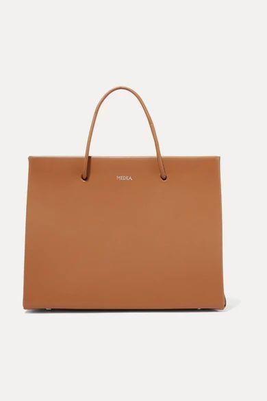 MEDEA - Prima Hanna Small Leather Tote - Tan