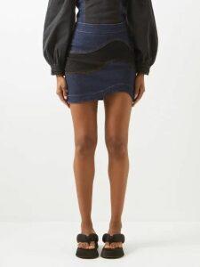 Prada - Margit City Small Studded Leather Cross Body Bag - Womens - Black