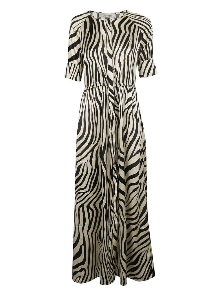 Laneus Printed Maxi Dress