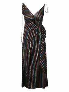 The Attico Striped Slip Dress