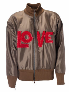 Moncler Genius Love Embroidered Jacket