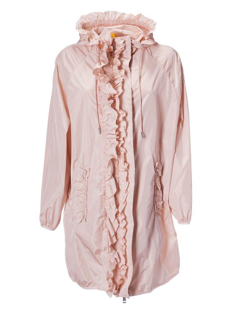 Moncler Genius Ruffled Raincoat