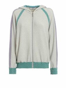 Blugirl Glitter Hooded Sweatshirt