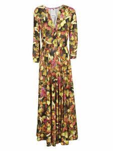 Ultrachic Fruits Printed Maxi Dress