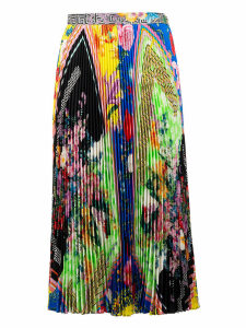 Versace Acid Bloom Print Skirt