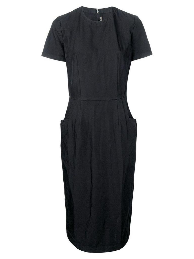 Comme Des Garçons Comme Des Garçons twill dress - Black