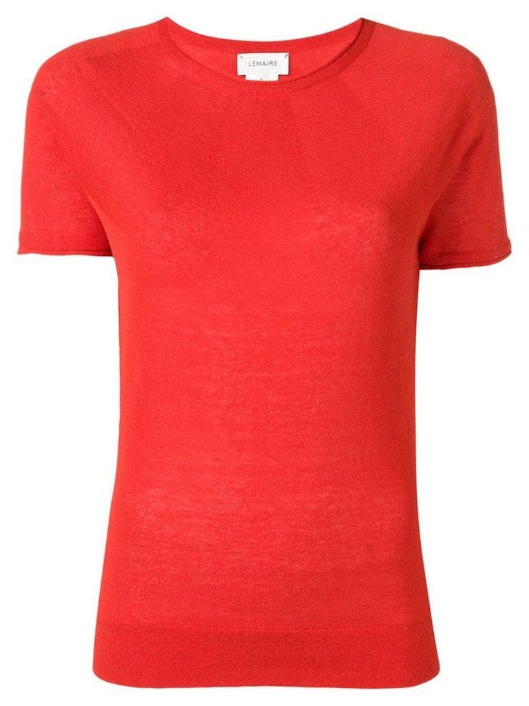Lemaire short sleeve T-shirt - Red