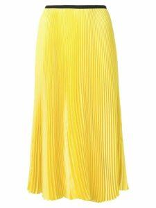 Blanca Vita Giallo pleated skirt - Yellow