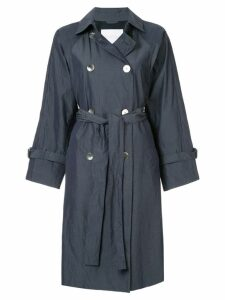 Blueflag + Kiminori Morishita belted trench coat