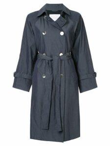 Blueflag + Kiminori Morishita belted trench coat