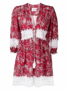 Forte Dei Marmi Couture paisley print dress - Red