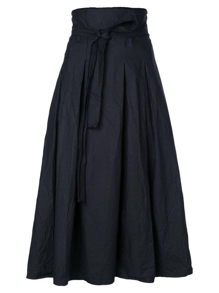 Daniela Gregis black pleated skirt