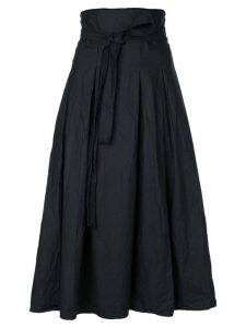 Daniela Gregis black pleated skirt