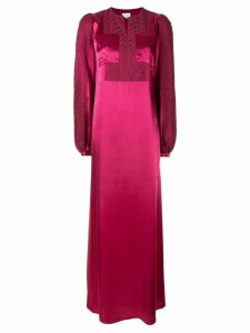 Zeus+Dione flared maxi dress - Pink