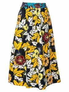 5 Progress floral print skirt - Yellow