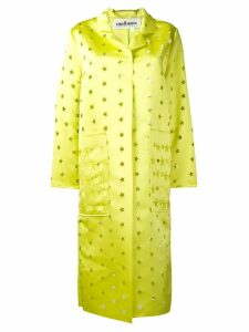 Caban Romantic buttoned star coat - Yellow