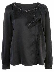 Coach washed effect blouse - Black