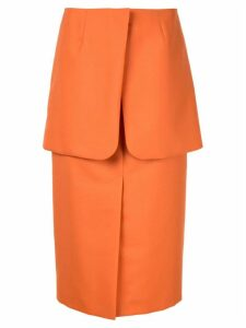 Irene pencil skirt - Orange