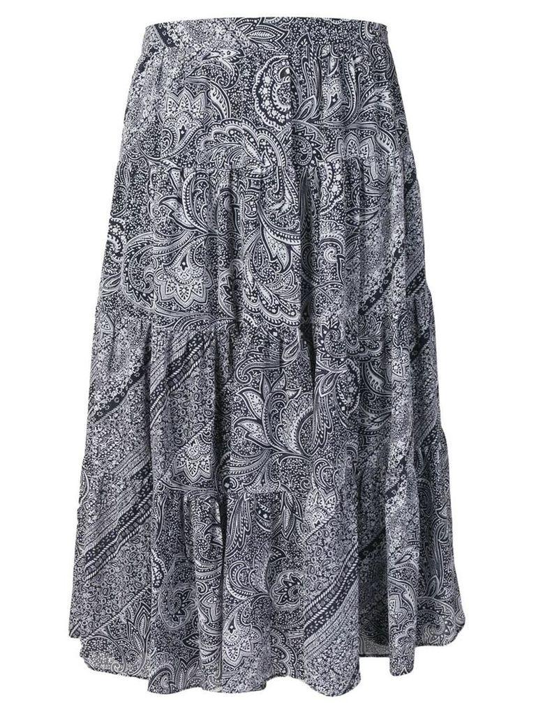 Michael Michael Kors paisley print skirt - Blue
