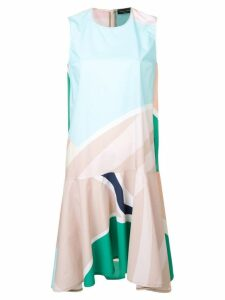 Roberto Collina geometric print swing dress - Green