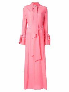 Layeur long shirt dress - Pink
