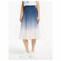 Second Female Anno Pleated Skirt, Brunnera Blue