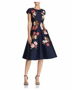 Sachin and Babi Leigh Floral-Embroidered Midi Dress