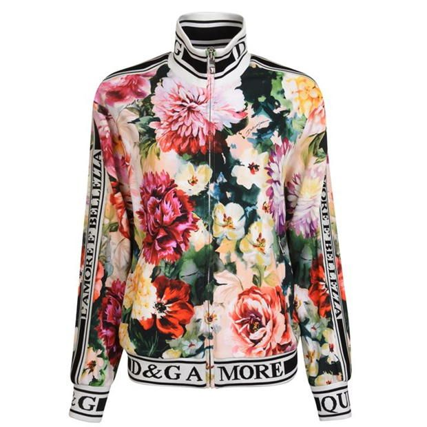 DOLCE AND GABBANA Floral Track Jacket