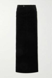 Dodo Bar Or - Pleated Floral-print Cotton-voile Mini Skirt - Purple