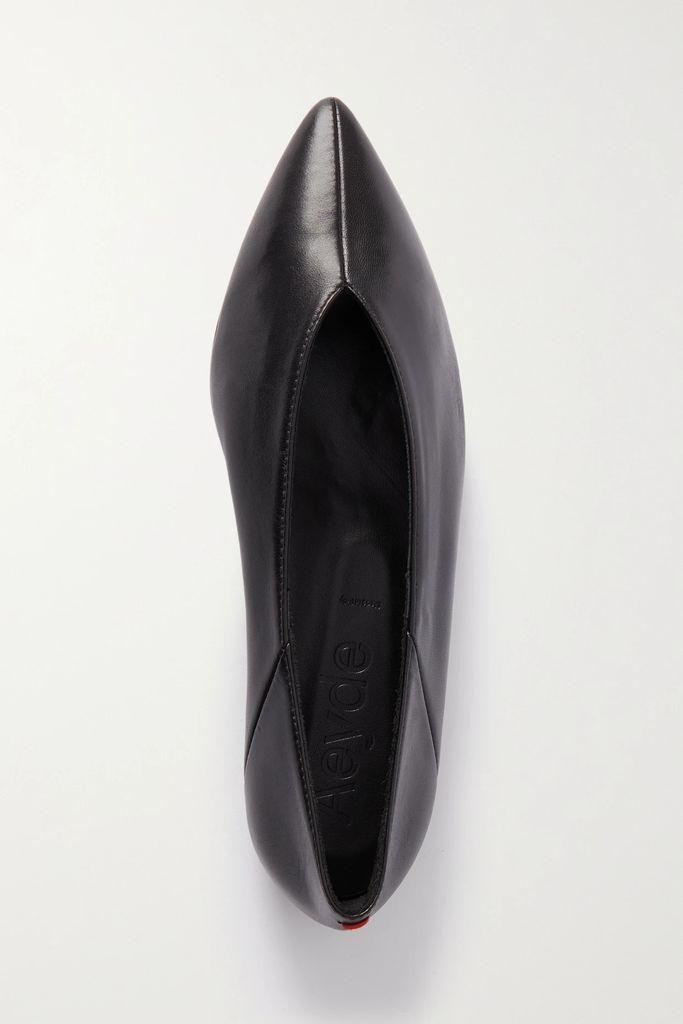 Valentino - Pleated Printed Silk-crepe Midi Skirt - Purple