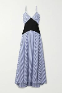 Alessandra Rich - Crystal-embellished Wool-crepe Blazer - White